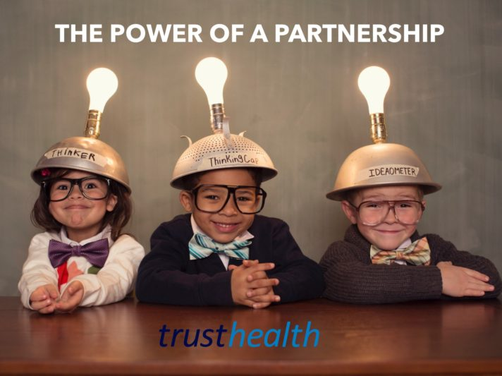 What is the attraction of forming a medical partnership?